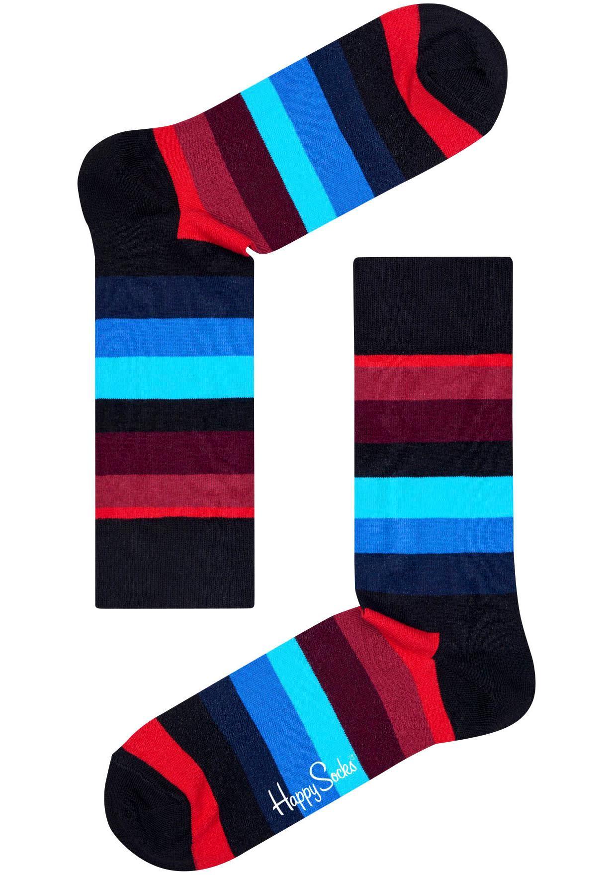 Happy Socks Socken Stripe   Bekleidung > Wäsche   Bunt   Happy Socks