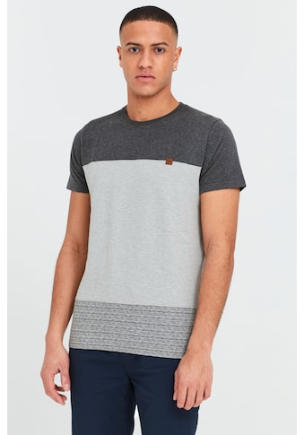 Indicode T-Shirt »Remmond«, T-Shirt im Colorblock-Look kaufen