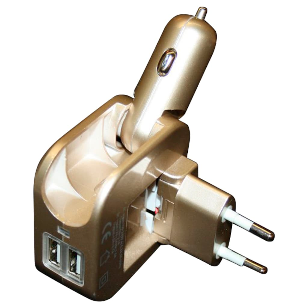 Rocco Universal-Ladegerät, Stromadapter für Kfz