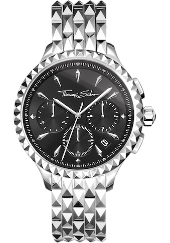 THOMAS SABO Chronograph »REBEL AT HEART, WA0346 - 201 - 203 - 38 mm« kaufen