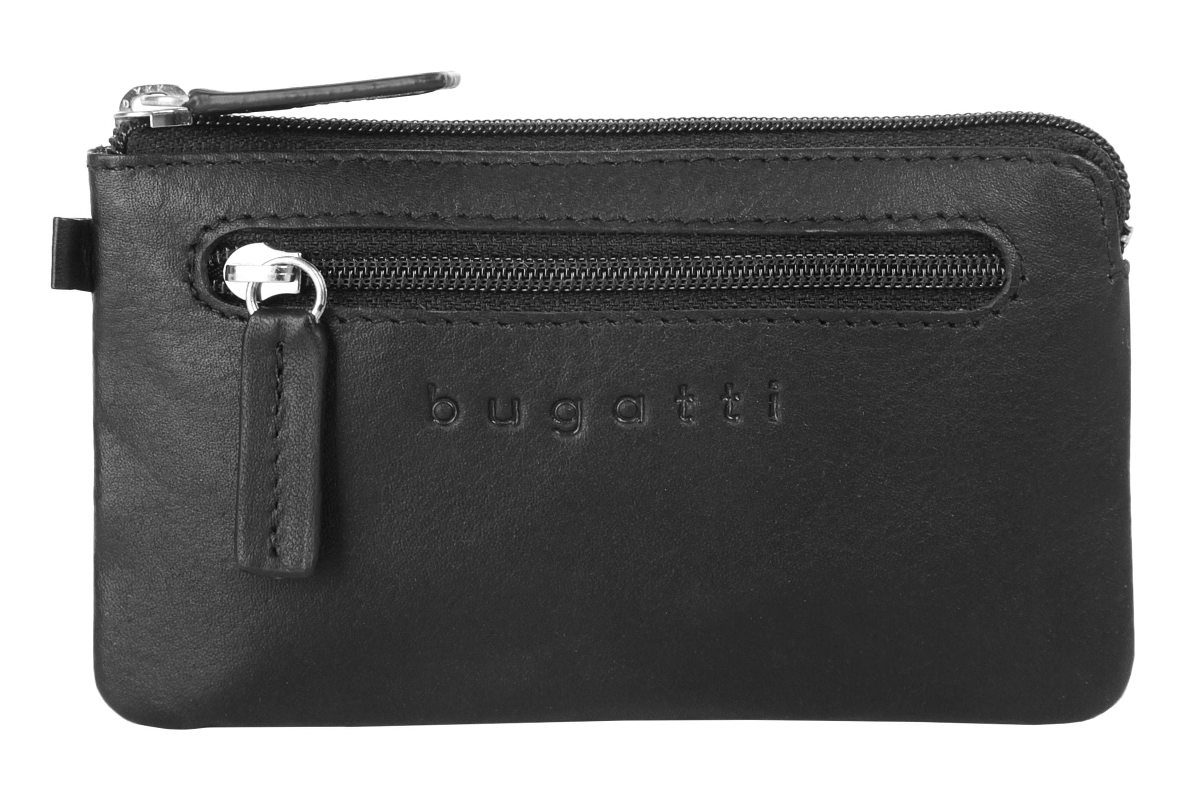 bugatti Schlüsseltasche PRIMO RFID | Accessoires > Portemonnaies > Schlüsseltaschen | Schwarz | Bugatti