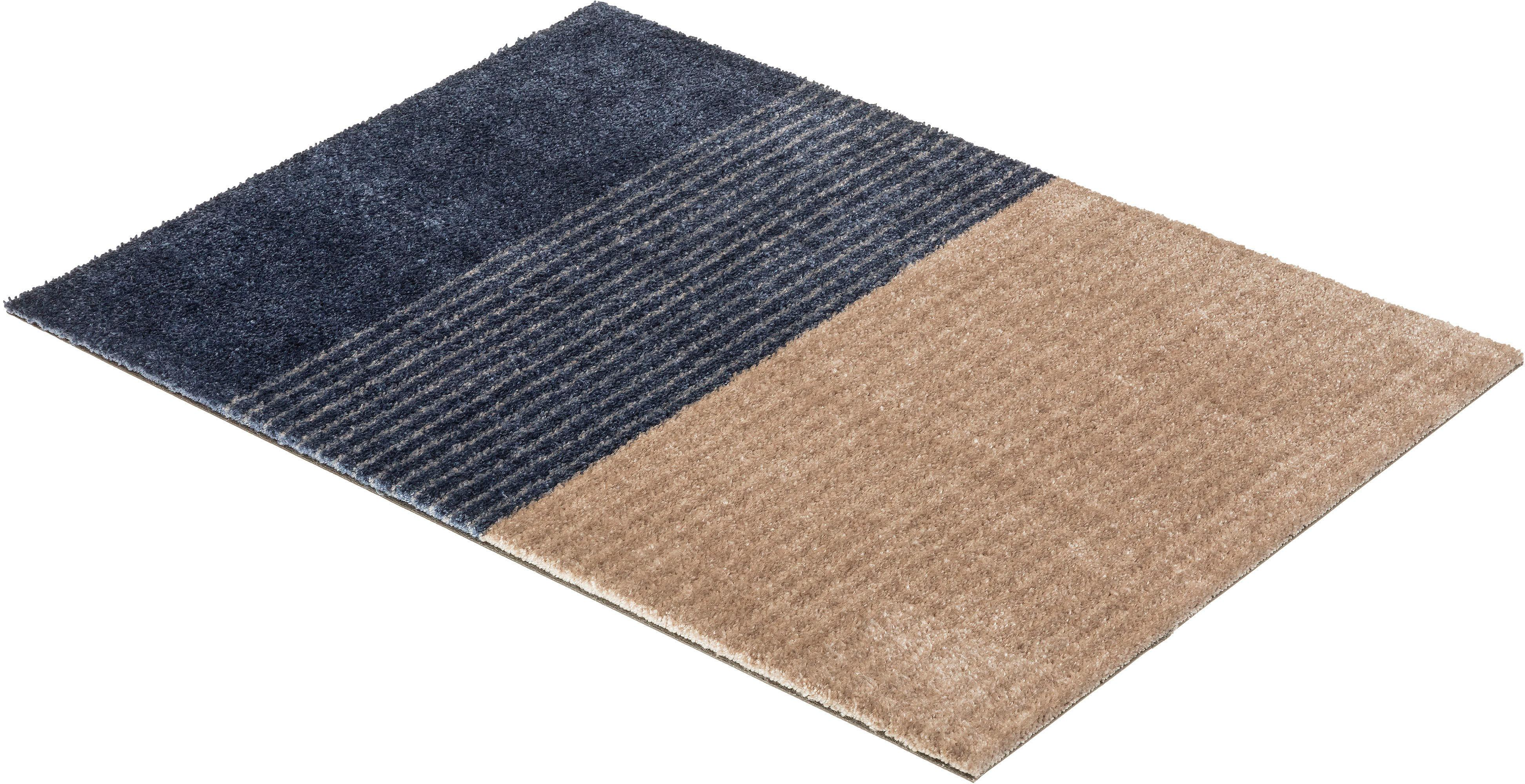 Fußmatte Manhattan 003 SCHÖNER WOHNEN-Kollektion rechteckig Höhe 7 mm maschinell getuftet
