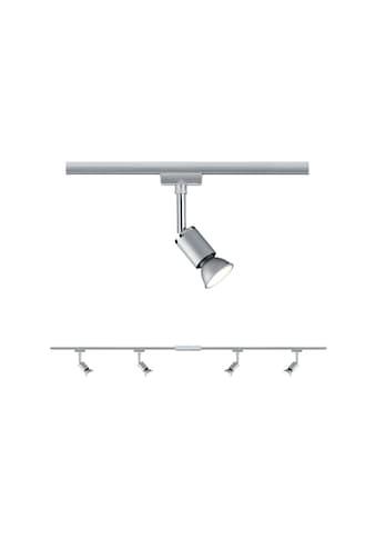 Paulmann,LED Deckenleuchte»URail Set GU10 Pure II Chrom matt max. 4x10W«, kaufen