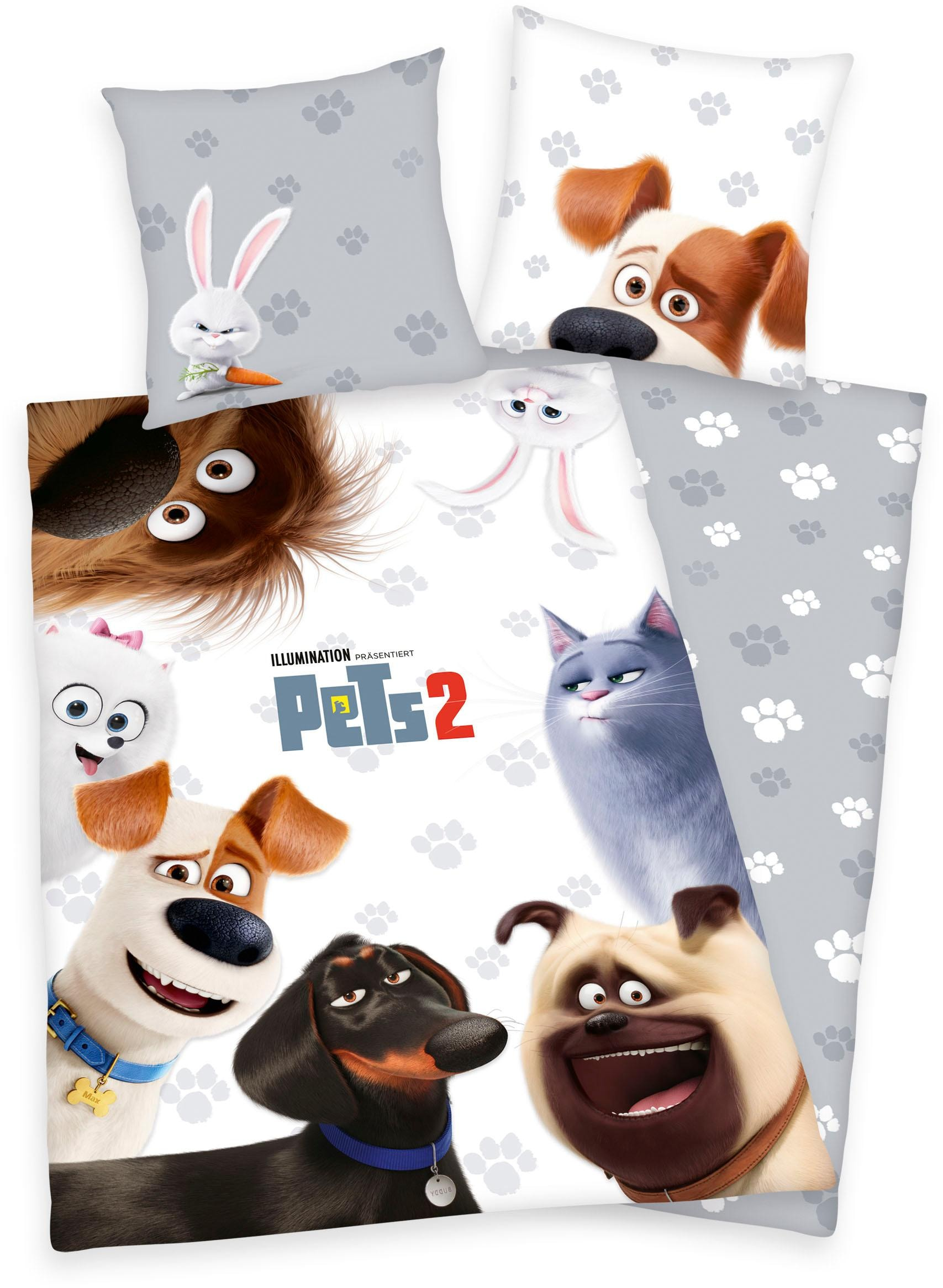 Kinderbettwäsche Pets 2