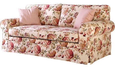 Leonique 3-Sitzer »Laura K«, Hussensofa im romantischen Landhauslook kaufen