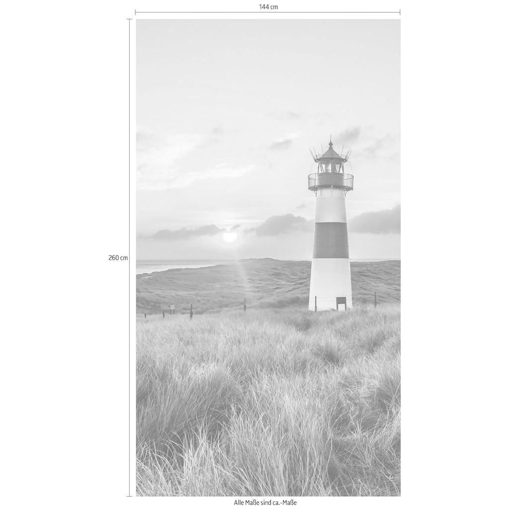 Wall-Art Vliestapete »Leuchtturm auf Sylt«