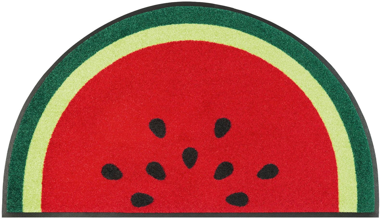 Fußmatte Melon wash+dry by Kleen-Tex rechteckig Höhe 7 mm gedruckt