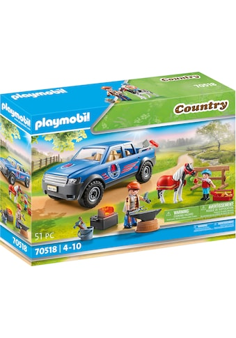 Playmobil® Konstruktions-Spielset »Mobiler Hufschmied (70518), Country«, (51 St.),... kaufen