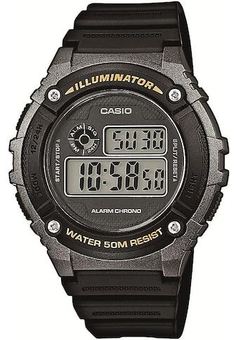 Casio Collection Chronograph »W - 216H - 1BVEF« kaufen