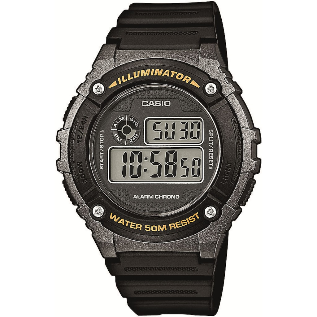 Casio Collection Chronograph »W-216H-1BVEF«
