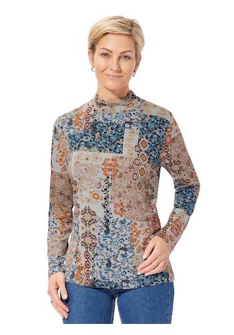 Classic Basics Winter - Shirt mit abwechslungsreichem Patch - Muster kaufen