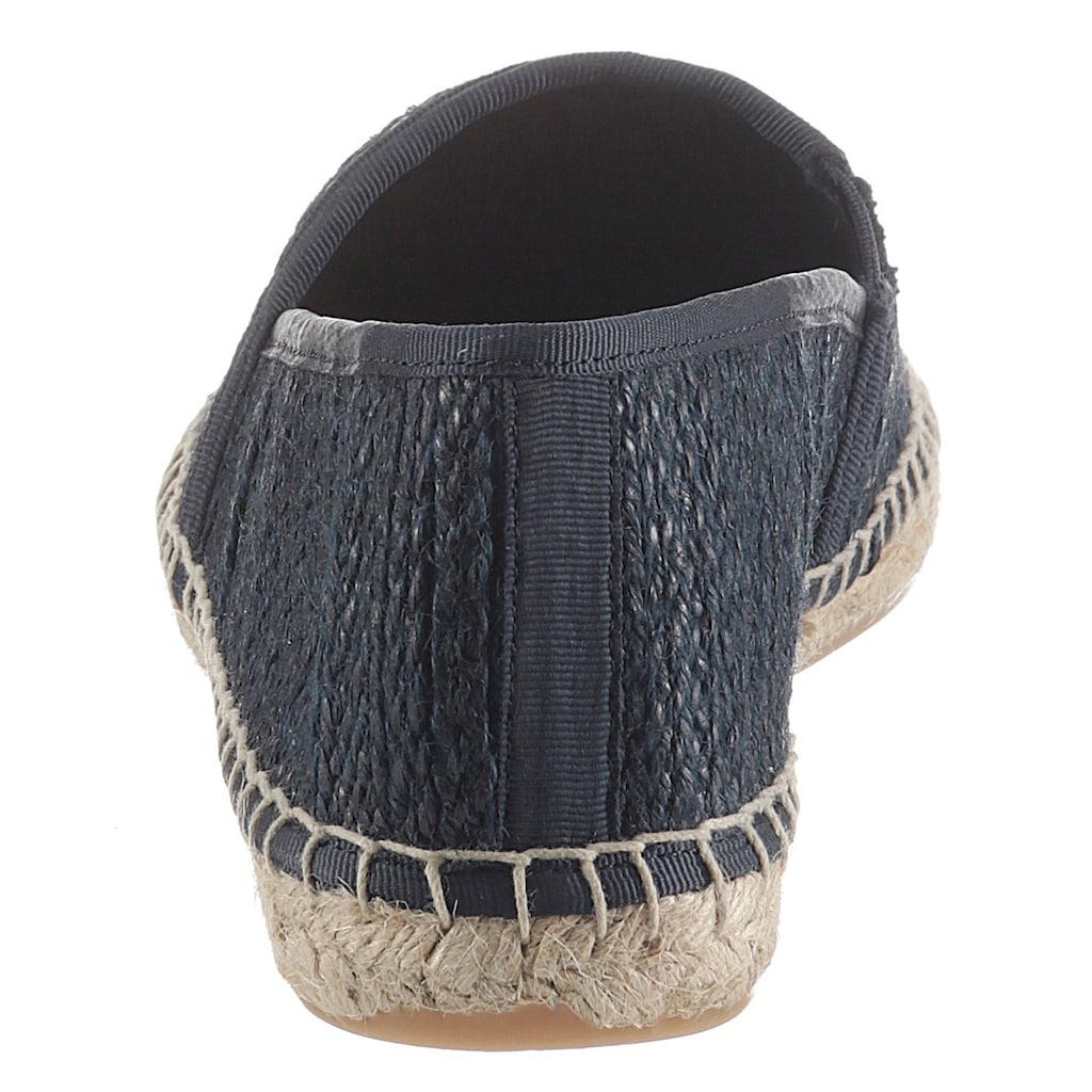 Tommy Jeans Espadrille »MONOCHROME ESPADRILLE«, mi typischer Rahmennaht
