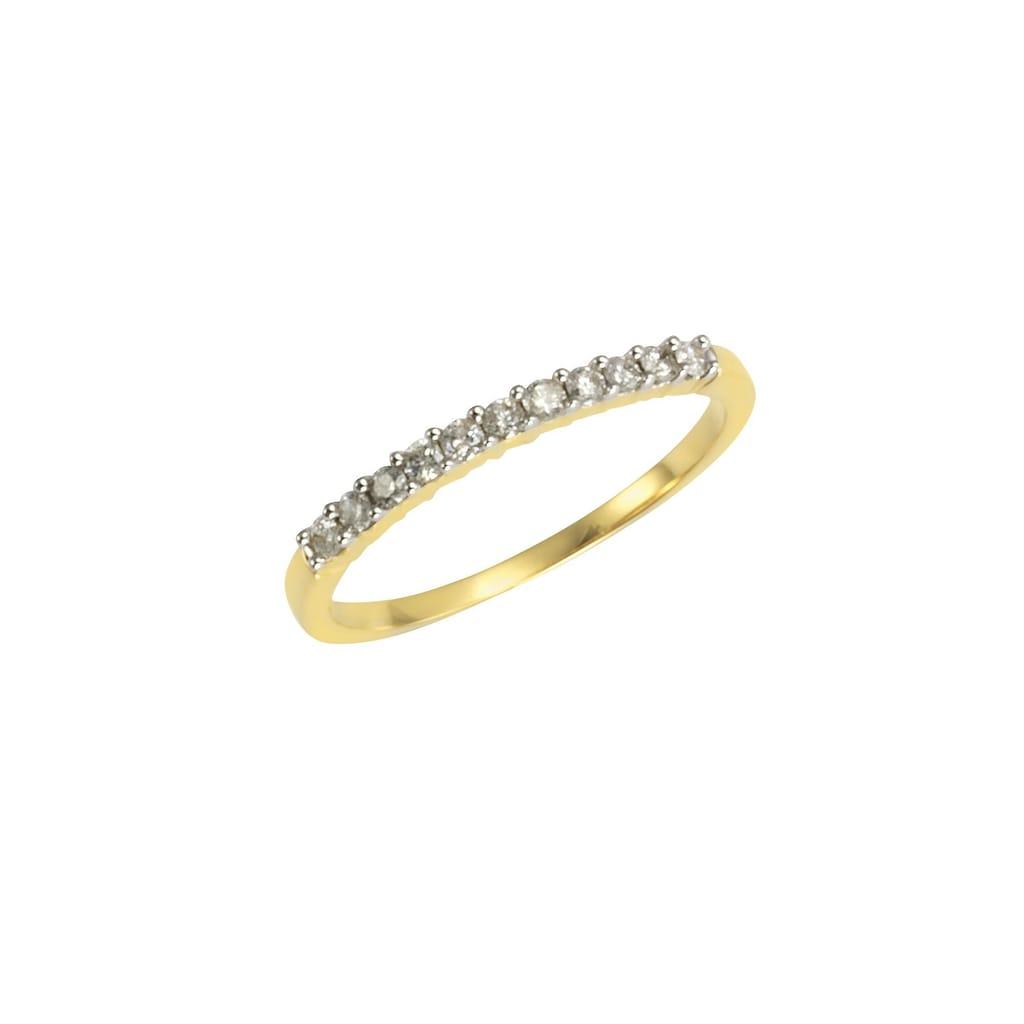 Diamonds by Ellen K. Goldring »585/- Gelbgold 11 Brillanten=0,25ct.«