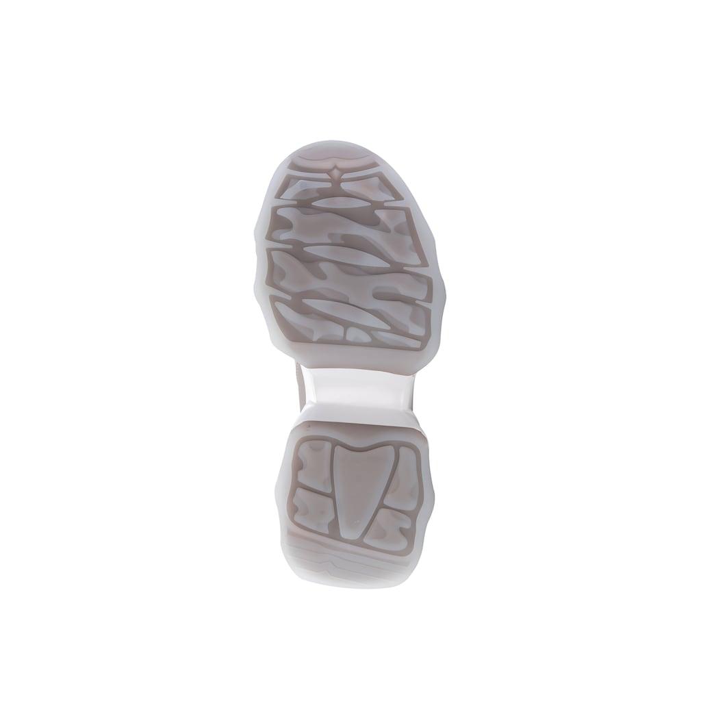 ekonika Sneaker, in trendigem Color-Blocking-Stil