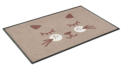 wash+dry by Kleen-Tex Fußmatte »Missy«, rechteckig, 7 mm Höhe, Fussabstreifer, Fussabtreter, Schmutzfangläufer, Schmutzfangmatte, Schmutzfangteppich, Schmutzmatte, Türmatte, Türvorleger, In- und Outdoor geeignet, waschbar kaufen