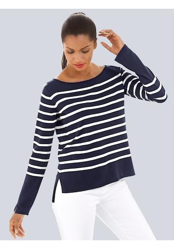 Alba Moda Pullover im Ringeldessin kaufen