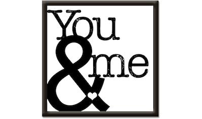Artland Wandbild »Du & Ich II« kaufen
