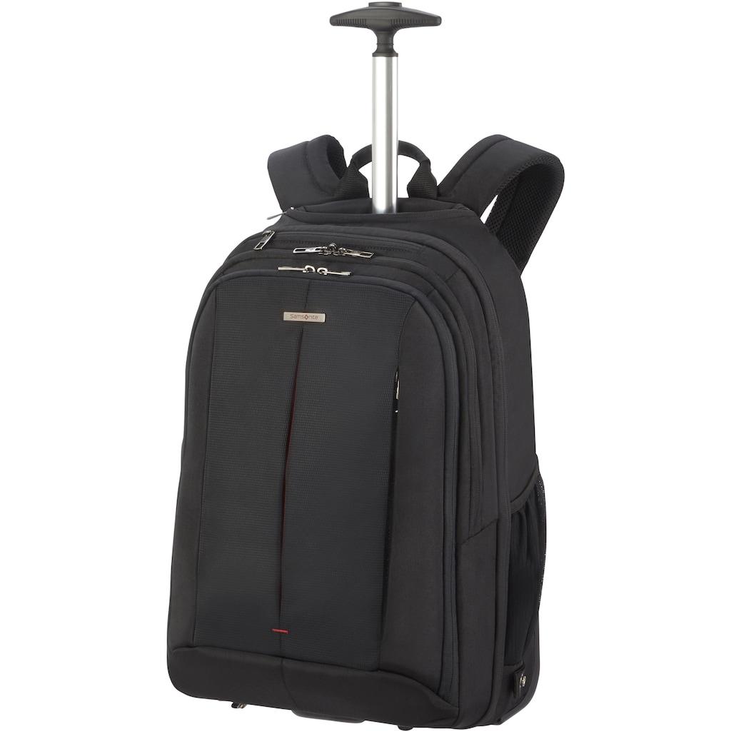 Samsonite Laptoprucksack »Guardit 2.0, black, mit 2 Rollen und Trolleyfunktion«
