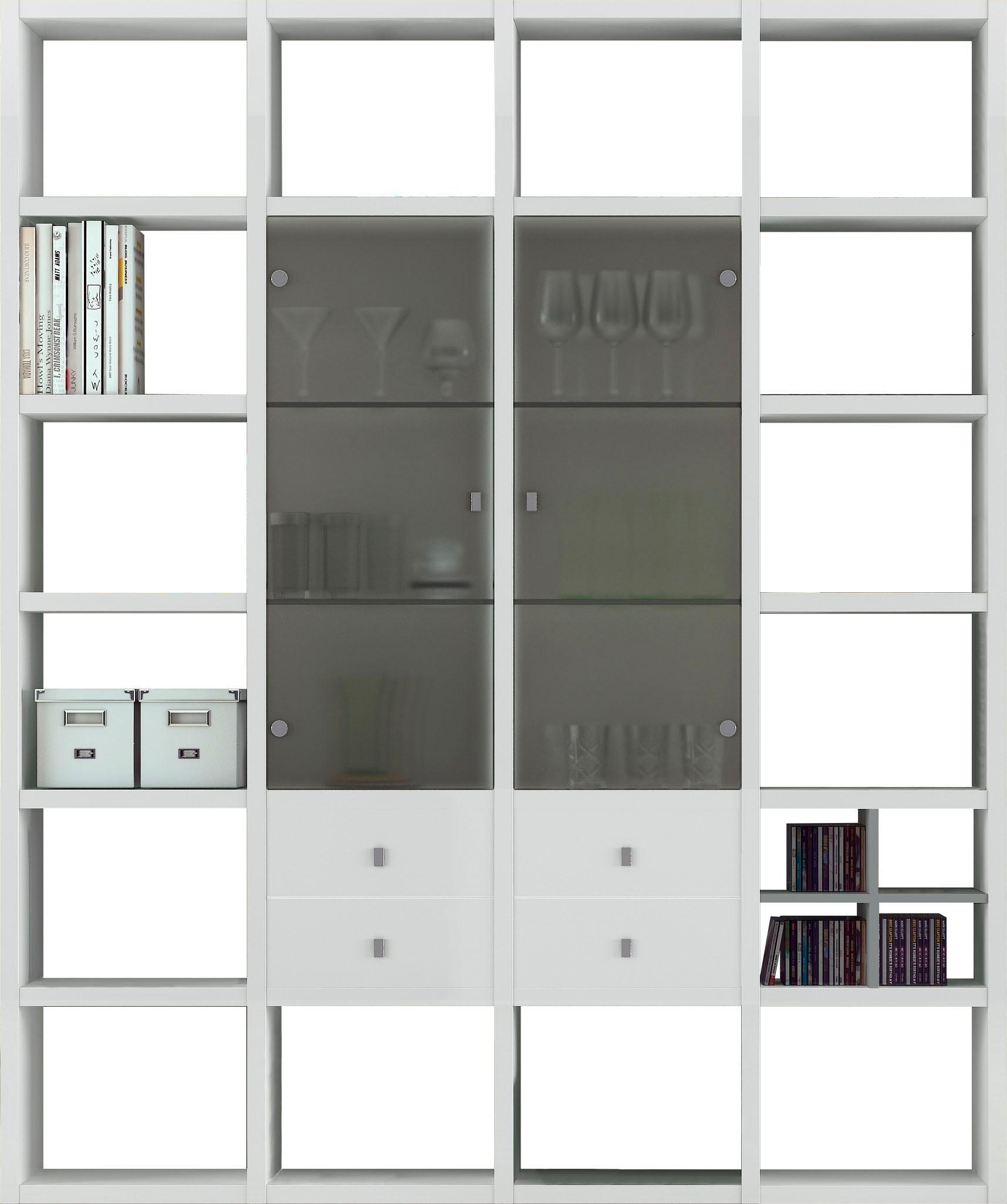 Standregal-Stehregal-Wohnen-Standregale-Regale-Made-In-Germany-Viel-Stauraum Indexbild 3