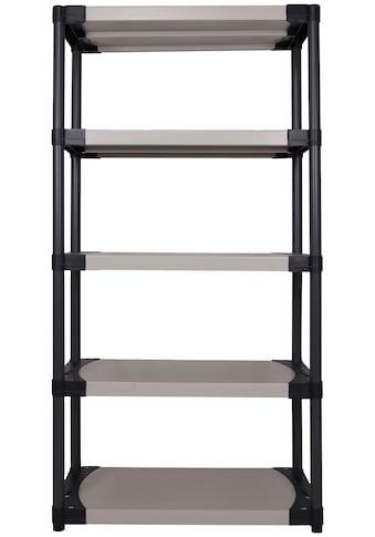 ONDIS24 Steckregal »Worker 90 XL«, (1 St.), 5 Fachböden, Kunststoff kaufen