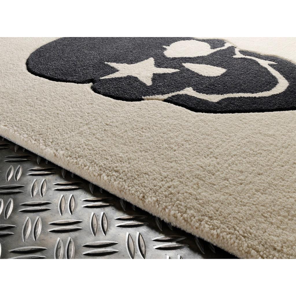 Rock STAR Baby Kinderteppich »RS2383-2«, rechteckig, 15 mm Höhe, handgearbeiteter Konturenschnitt, Obermaterial: 100% Polyacryl, Kinder- und Jugendzimmer