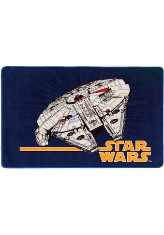 Star Wars Kinderteppich »SW-74«, rechteckig, 2 mm Höhe, Motiv Millennium Falke,... kaufen
