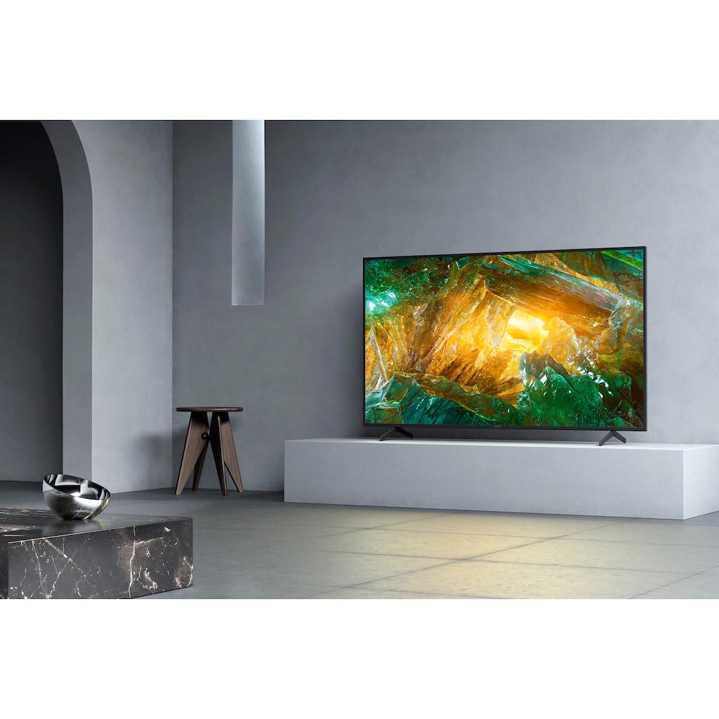 "Sony LED-Fernseher »KD85XH8096 Bravia«, 215 cm/85 "", 4K Ultra HD, Android TV"