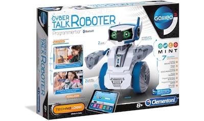 Clementoni® Modellbausatz »Galileo - Cyber Talk Roboter«, Made in Europe kaufen