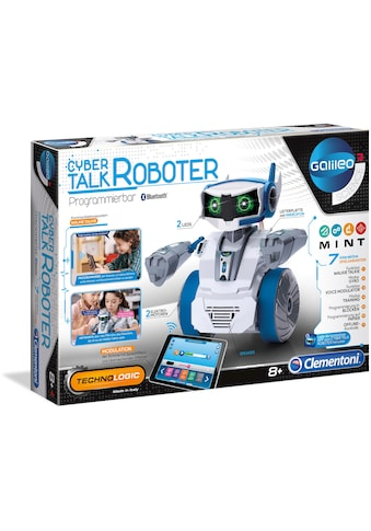 Clementoni® Modellbausatz »Galileo - Cyber Talk Roboter«, Made in Europe kaufen