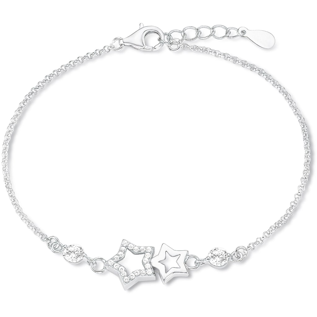 Amor Armband »9261611, Sterne«, mit Zirkonia