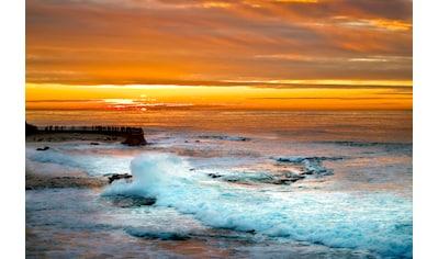 Papermoon Fototapete »Sunset in la Jolla« kaufen