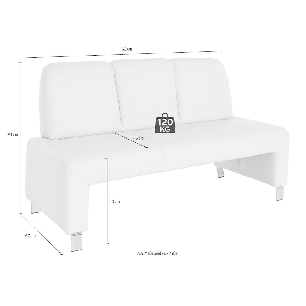 exxpo - sofa fashion Polsterbank »Intenso«, Frei im Raum stellbar