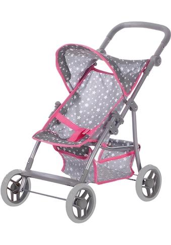 Knorrtoys® Puppenbuggy »Puppenbuggy Liba - Star grey« kaufen