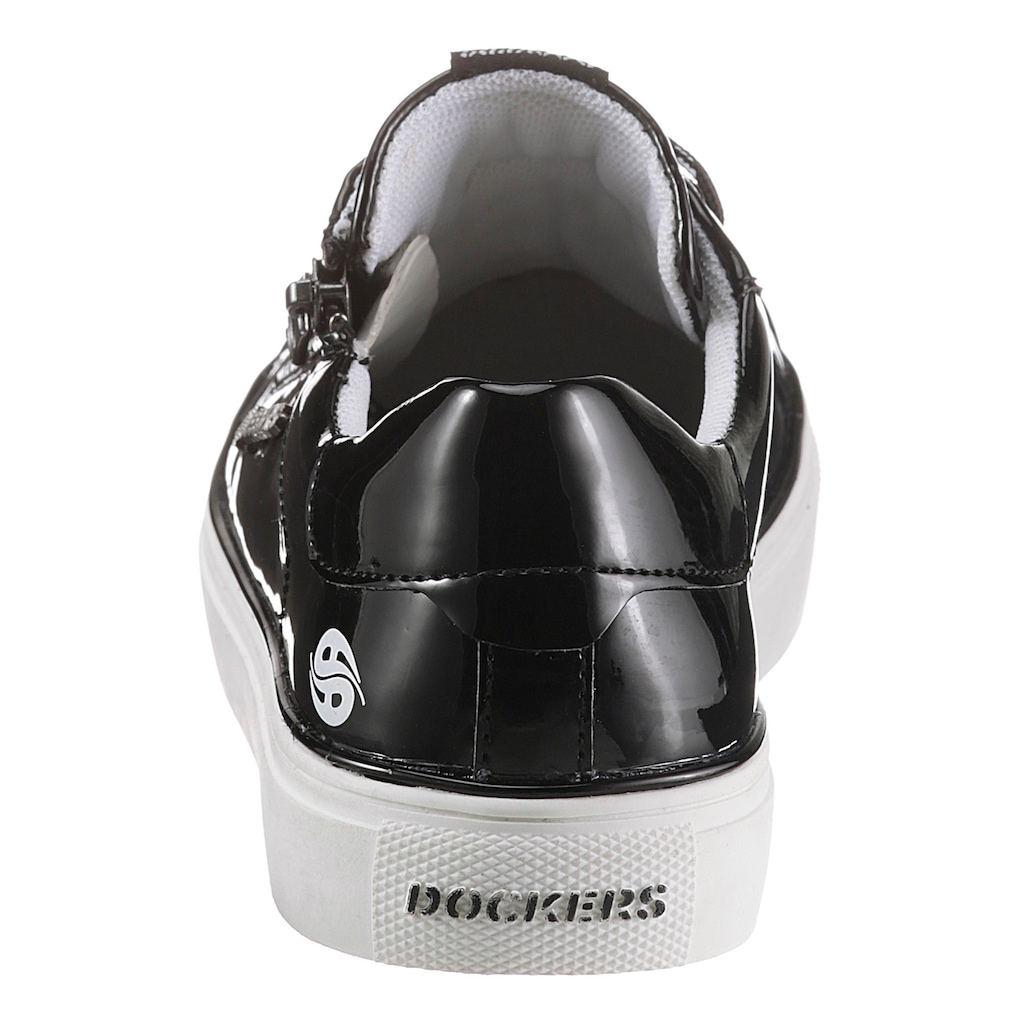 Dockers by Gerli Sneaker, aus glänzendem Lacklederimitat