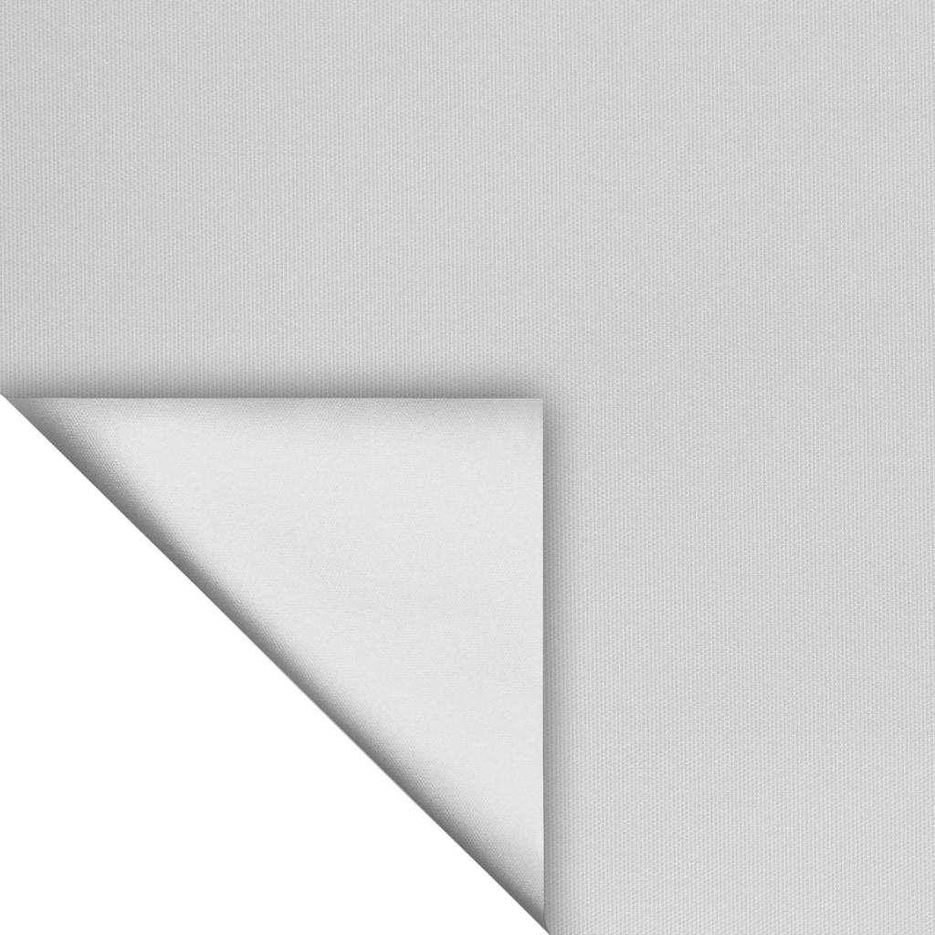 LICHTBLICK ORIGINAL Seitenzugrollo »Verdunkelungsrollo Thermo-Rollo Klemmfix ohne Bohren mit Seitenverspannung Sichtschutz Hitzeschutzrollo«, verdunkelnd, Verdunkelung-Hitzeschutz, verspannt, Verdunklungsrollo mit Klemmträger und Silberbeschichtung blickdicht - für Fenster