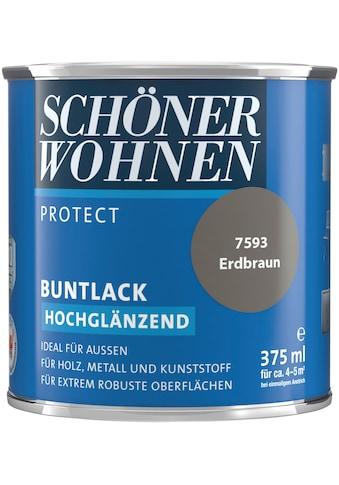 SCHÖNER WOHNEN-Kollektion Lack »Protect«, hochglänzend, 375 ml, erdbraun kaufen