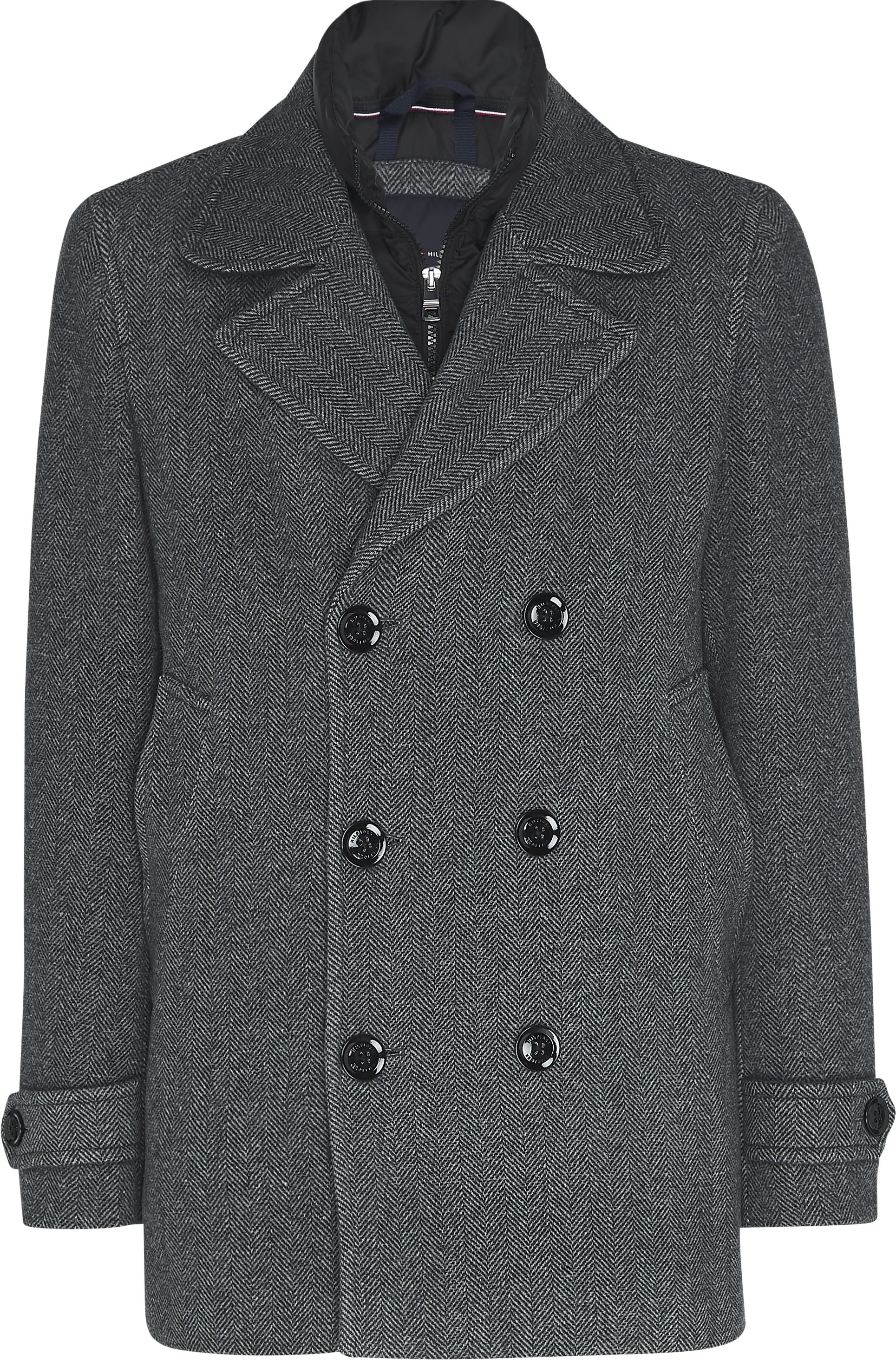 tommy hilfiger -  Wollmantel PADDED PEACOAT