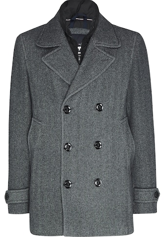 TOMMY HILFIGER Wollmantel »PADDED PEACOAT« kaufen