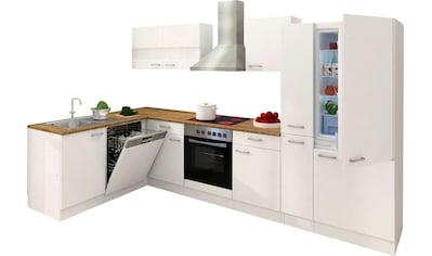 RESPEKTA Winkelküche »Hamm«, mit E-Geräten, Stellbreite 310 x 172 cm kaufen