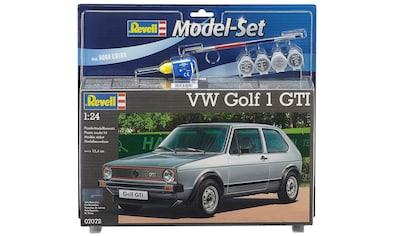 Revell® Modellbausatz »Model-Set VW Golf 1 GTI«, (Set), 1:24, Made in Europe kaufen