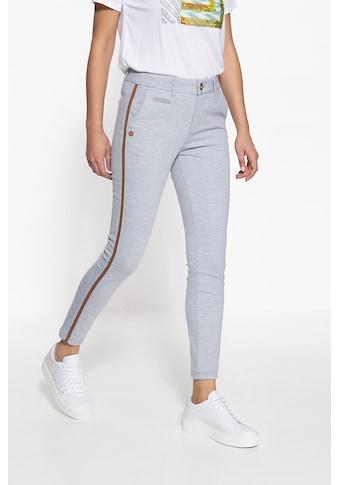 ATT Jeans Stretch-Hose »Ruby«, aus Sewatware und seitlichem Streifen kaufen
