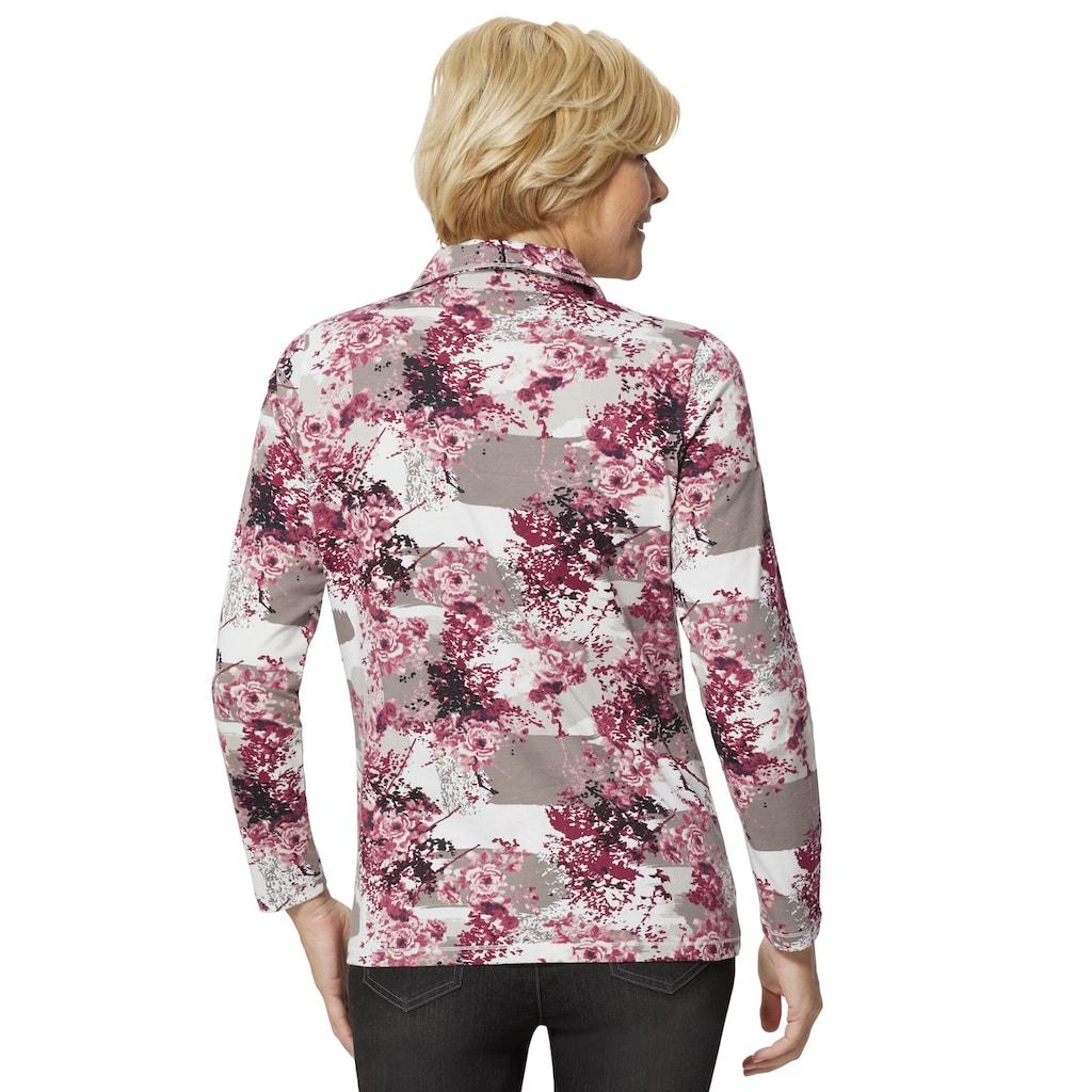 Classic Basics Langarm-Poloshirt