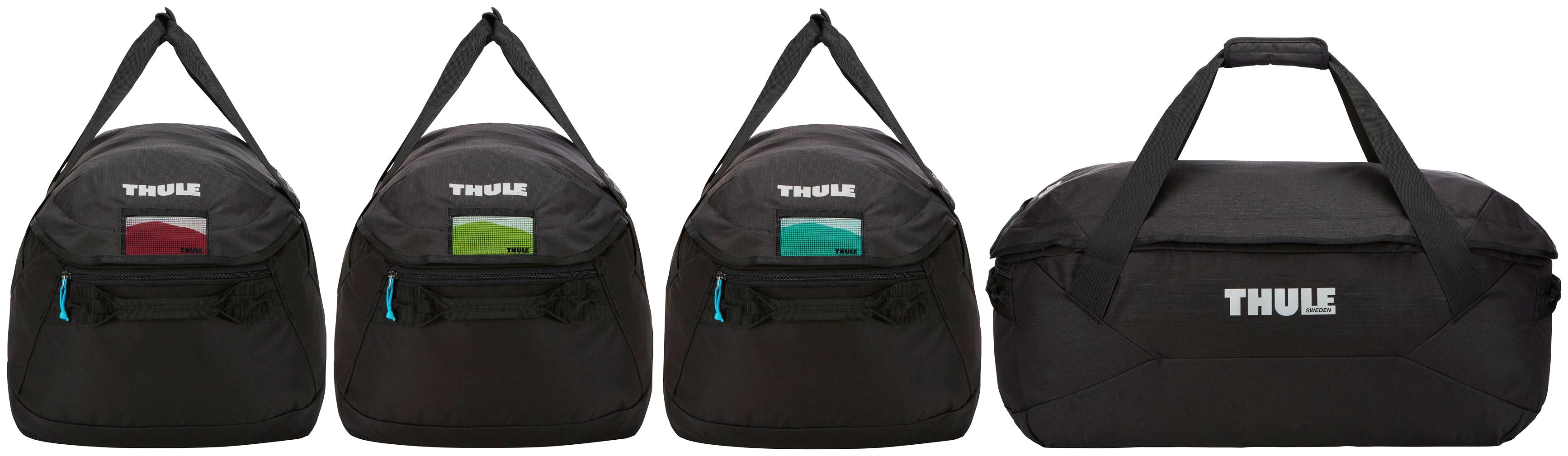 Thule Aufbewahrungstasche GoPack Set schwarz Auto-Aufbewahrung Autozubehör Reifen Taschen