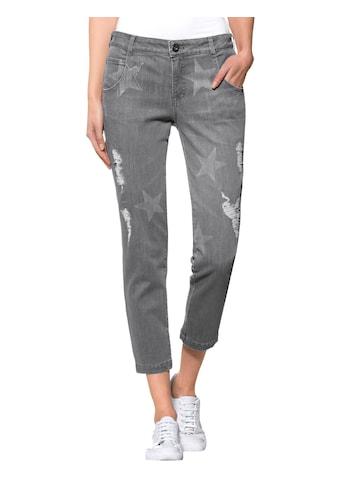 Alba Moda Jeans mit exklusivem Sternedruck kaufen