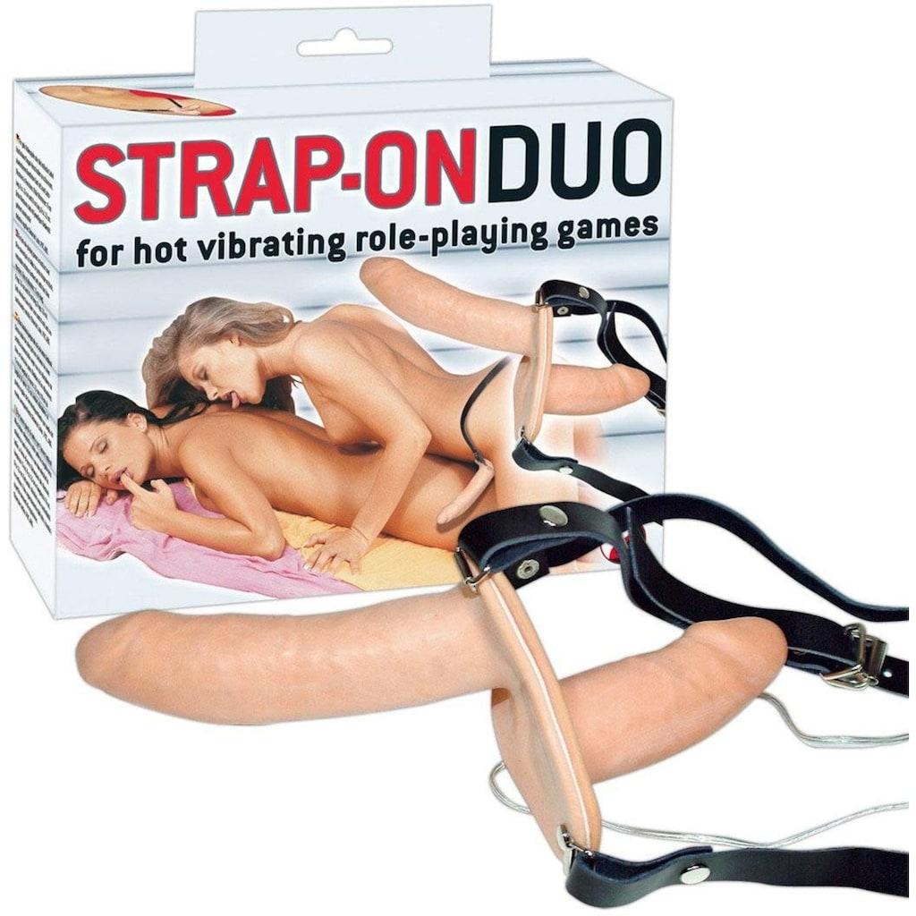 """You2Toys Umschnallvibrator »Umschnalldildo """"Strap-on Duo""""«"""