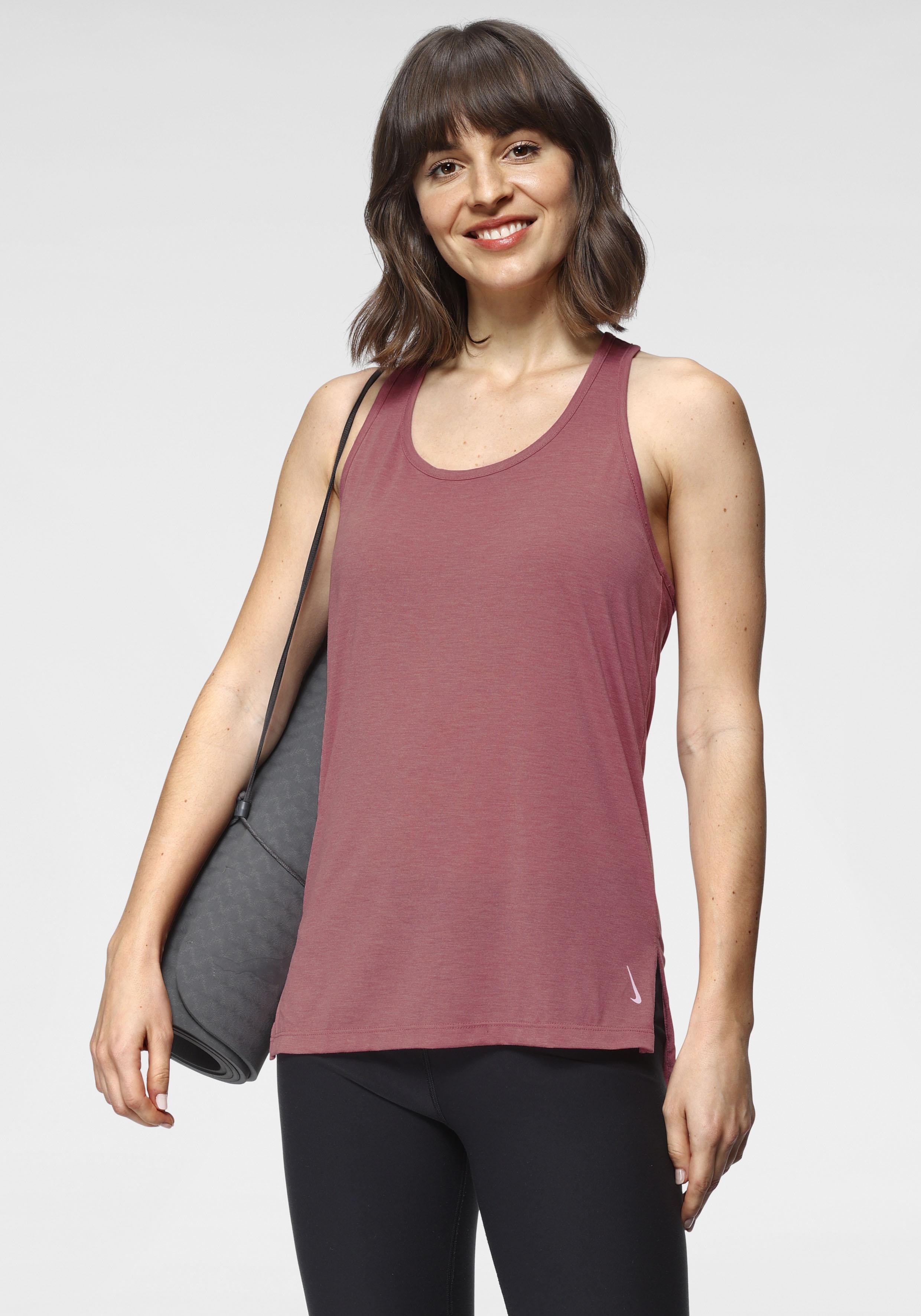 Nike Yogatop Yoga Women's Tank rosa Damen