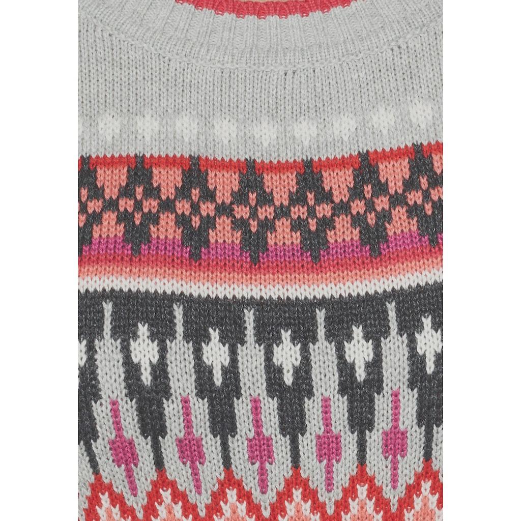 KangaROOS Strickkleid, im Fair-Isle-Norweger-Muster