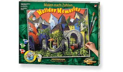 Schipper Malen nach Zahlen »Meisterklasse Premium - Holiday Memories«, Made in Germany kaufen