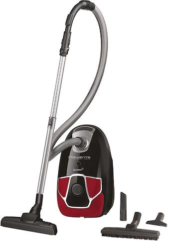 Rowenta Bodenstaubsauger »RO6859 Silence Force Allergy+ Parkett«, 450 W, mit Beutel,... kaufen