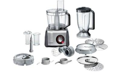 BOSCH Kompakt - Küchenmaschine MultiTalent 8 MC812M865, 1250 Watt, Schüssel 3,9 Liter kaufen